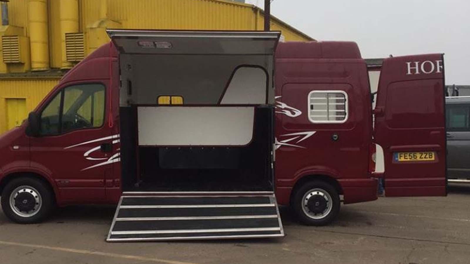 17928aeec7 Renault Master Horsebox - Ruby Rose Horseboxes