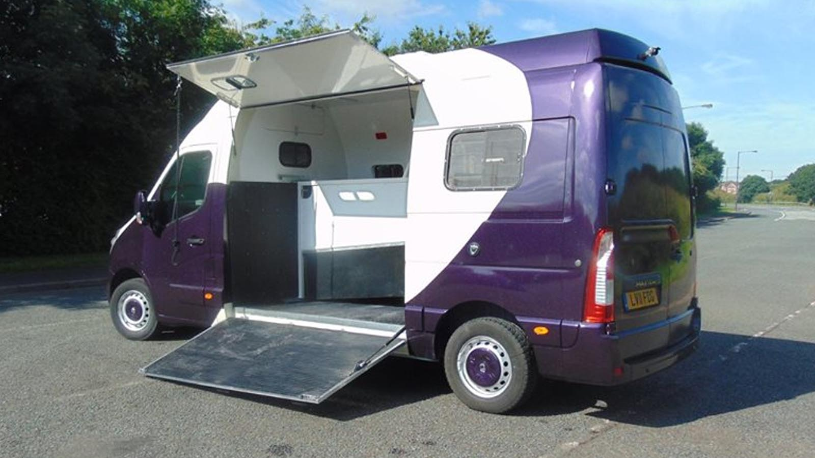 Renault Master Van Horsebox Conversion