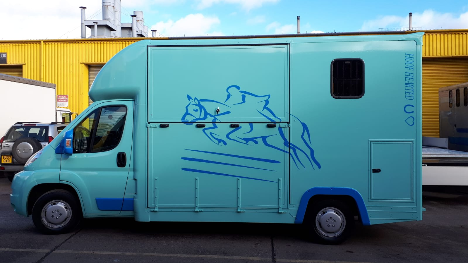 3.5 ton horsebox conversions
