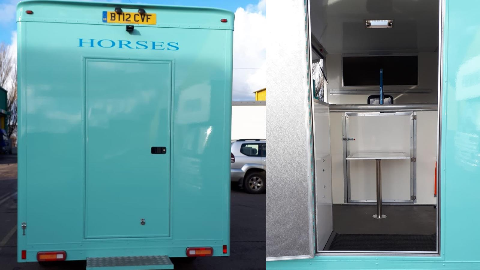 3.5 tonne horsebox for sale