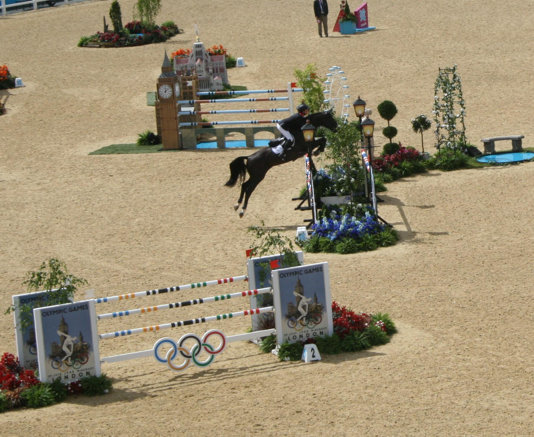 History of Showjumping At The Olympics